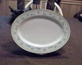"""Noritake *-* DELIGHT, 7229 *-* 11"""" Serving Platter"""