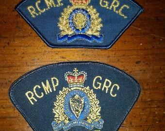 RCMP Patch set - New