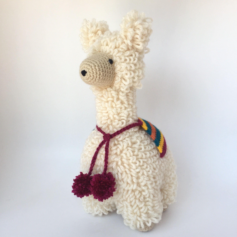 Crochet Llama Amigurumi Pattern : Crochet amigurumi pattern: Llama