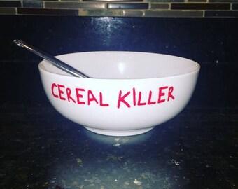 Cereal Killer Bowl // cereal bowl