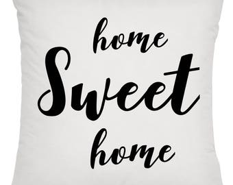 Home Sweet Home Pillow   Cabin Pillow   Lake Pillow   Farmhouse Pillow   Closing Gift   Housewarming Gift   Thank You Gift