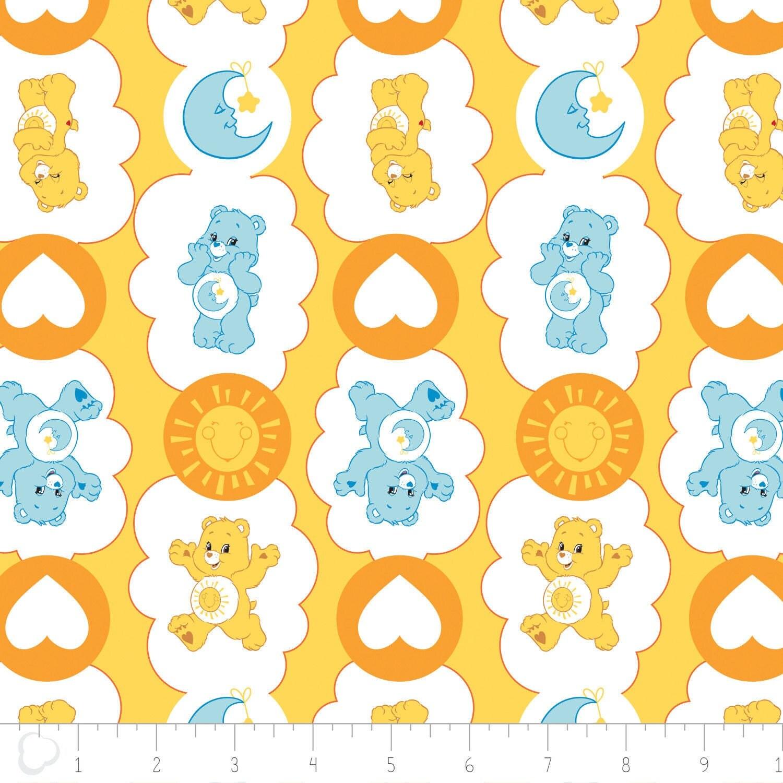 Camelot The Care Bears Fabric: Care Bears Funshine Bear ...