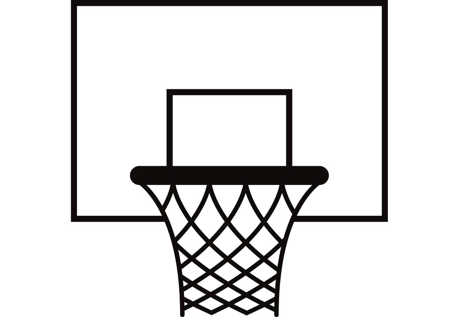 Basketball pattern vector