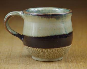Cup, Pottery Cup, Coffee Mug, Handmade Stoneware Teacup, Ceramic Mug