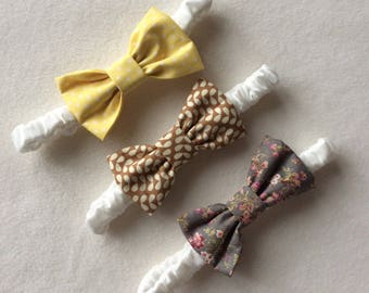 Baby Hair Bows, Headbands, Baby Girl, 3-6 Months