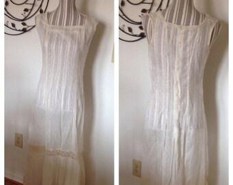 Anniversary Sale Beautiful Victorian White Lace Dress