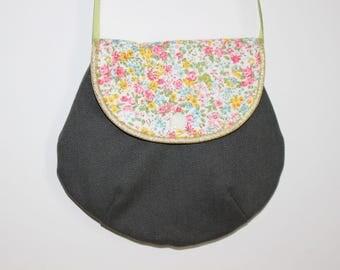 Khaki bag and liberty for girl