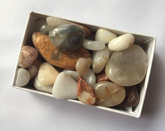 Hand-tumbled Midwest Rocks - small