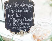 Southern Sweet-tea Pops, Wedding Favors, Southern Gifts, Handmade & Homemade Delicious Lollipops (100 lollipops)