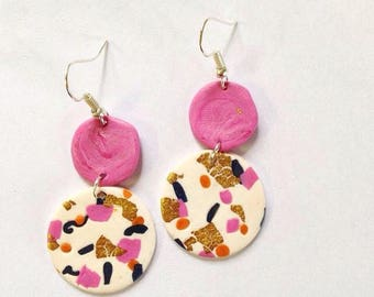 Confetti earrings