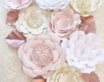 Large Paper Flower Decor-Nursey Decor*****Customize your Order******