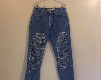 Vintage Levis High Waisted Mom Jeans