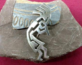 Native American Elwwod Reynolds Kokopelli Pin