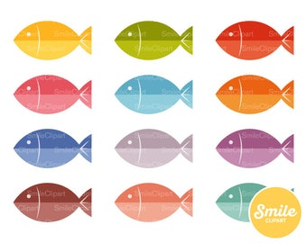 Fish Clipart Illustration for Commercial Use | 0277