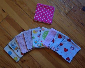 10 wipes washable soft