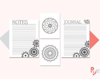 NOTES BUNDLE Big Happy Planner Printable Inserts, Create 365, Happy Planner Insert, Happy Planner Large, MAMBI Planner, Instant Download