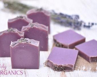 Lavender Soap (Handmade organic soap, all-natural soap, vegan friendly soap, made in Canada)