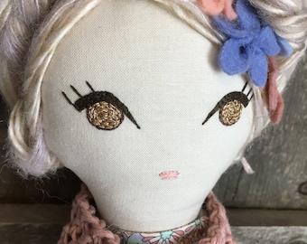 Rag Doll Cloth Doll Fabric Dolls Fabric Doll Rag Dolls Cloth Dolls Handmade Cloth Dolls Heirloom Doll Handmade Doll Dolls Handmade Girl Gift