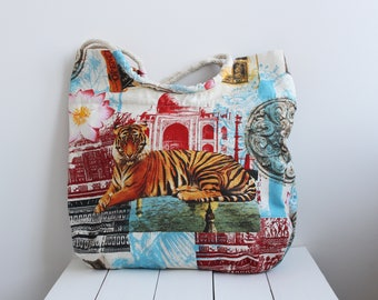100% Cotton  Bag with print