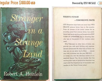 SALE BUY NOW Stranger in a Strange Land - Robert A. Heinlein (Book Club/Bce 1961 C23 Code Hardcover w/ Dust Jacket) Science Fiction Classic