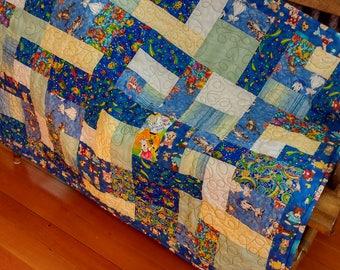Baby quilt,  Child's quilt,  Children's bedding