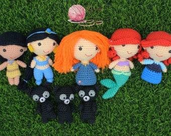 Crochet pattern of Princess Series 3