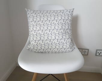 """Cushion cover """"Well anchored"""""""