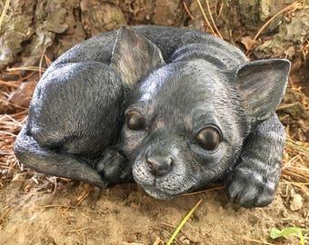 Concrete Chihuahua Statue