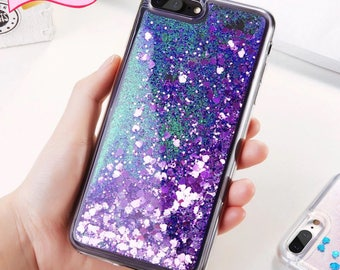 Glitter silicone for iPhone 6 6S 7 5 5S SE