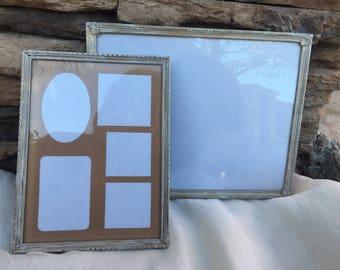 Vintage picture frames, antique gold frames, antique white picture frames, 70s picture frames, 80s picture frames