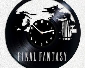 Vinyl clock Final Fantasy