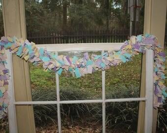 Easter/Spring 6' Rag Garland