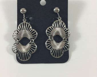 Vintage Sarah Coventry Silver Tone Earrings, Vintage Sarah Coventry Jewelry, Vintage Coventry Jewelry, Vintage Designer Earrings,