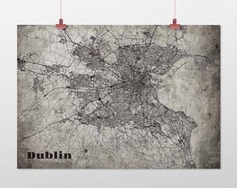 Dublin din a4/DIN A3-print-old-school