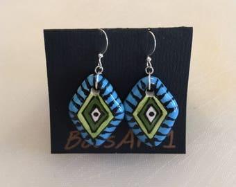 Colorful Ceramic Earrings