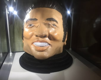 Original Vintage Elvis Presley Latex/Rubber Theatre/Theatrical Mask by Cesar 1978