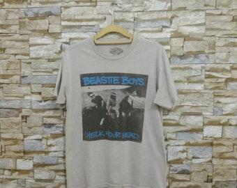 Beastie Boys Shirt Rare Beastie Boys Check Your Head Tour Concert Band T-Shirt Tee