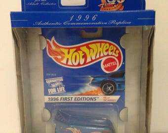 Vintage 1996 First Editions Hot Wheels VW Bus