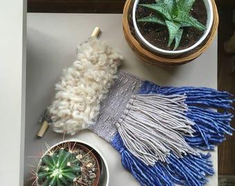 Sheep River | Woven Wall Hanging | Wall Hanging | Weaving | Wall Art | Fibre Art | Textile Art | Boho Decor | Interior decor | Scandinavian