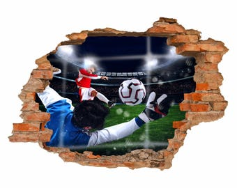 033 wall gate football - hole in the wall