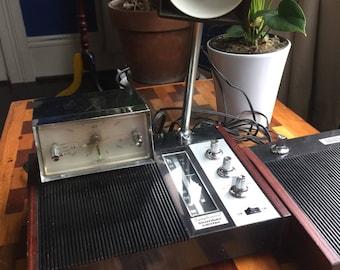 Vintage Clock Radio Lamp - Symphonette Slumber Center - Works Great!