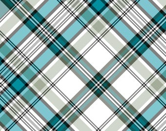 Printed Plaid Pattern 5- ORACAL Adhesive & SISER Heat Transfer Vinyl HTV. Compatible with Cricut, Silhouette, all cutters