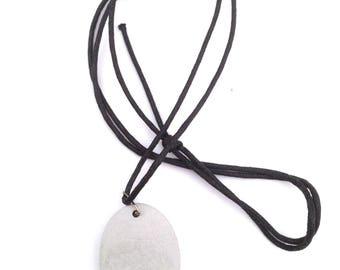 Oval Pendant Concrete Jewellery, Concrete Necklace, industrial jewellery, handmade necklace, hand poured pendant, minimalistic, raw, simple