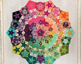 NEW Tula Nova Quilt Fabric Kit featuring Spirit Animal by Tula Pink