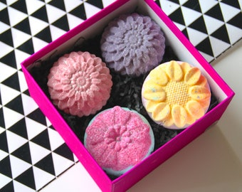 Flower Bath Bomb Gift set