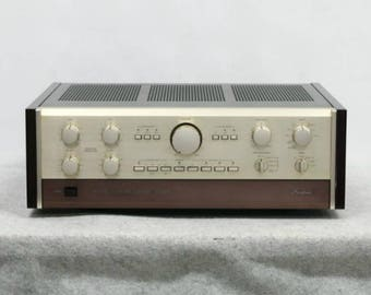 Excellent!! Rare!! vintage Accuphase C-200V control amplifier from Japan