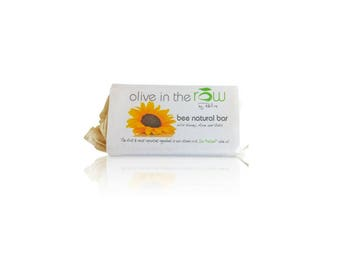 100% Pure RAW Olive Oil Soap - BEE NATURAL