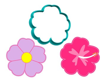Flower - Hibiscus - Cookie Cutter