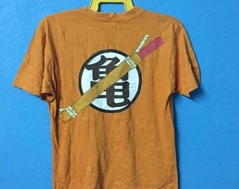 Rare!!vintage 90s dragon ball shirt nice design size M