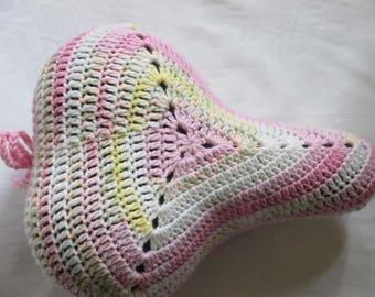 Saddle cover though seat saver saddle cover handmade crochet
